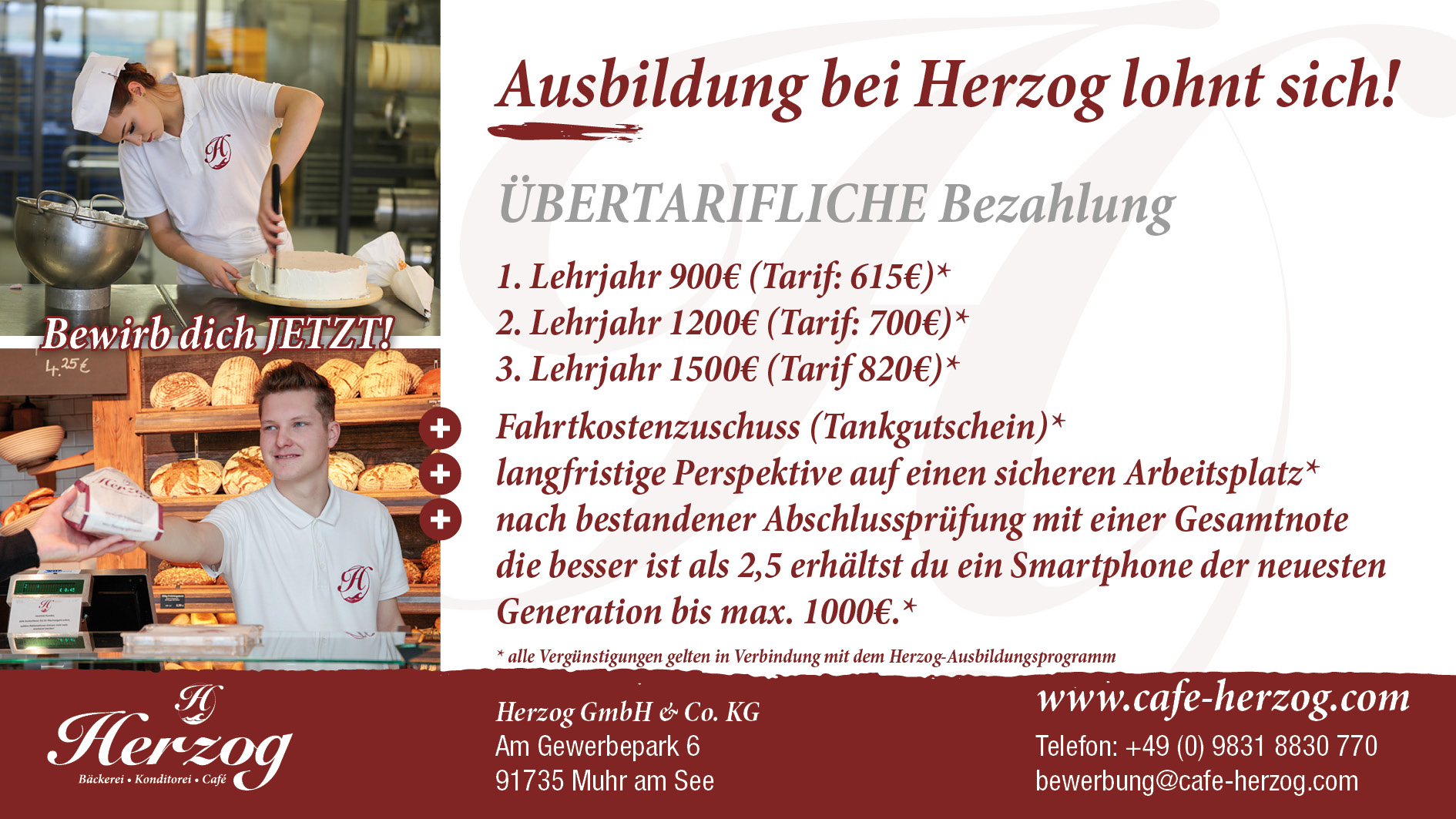 Ausbildung Zum Konditor (m/w)
